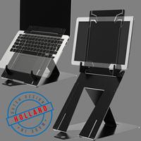 R-Go Riser DUO laptop- en tabletstandaard